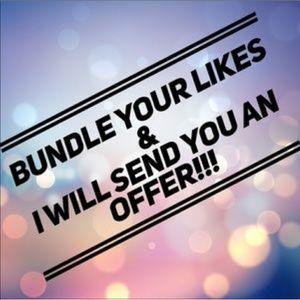 • Bundle your Likes 💕 •